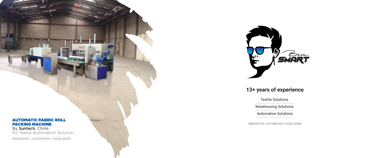 AUTOMATIC FABRIC ROLL PACKING MACHINE Slider 01