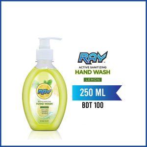 RAY Active Sanitizing Hand Wash 250ml Lemon
