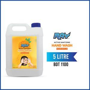 RAY Active Sanitizing Hand Wash Refill 5 Liter Marigold