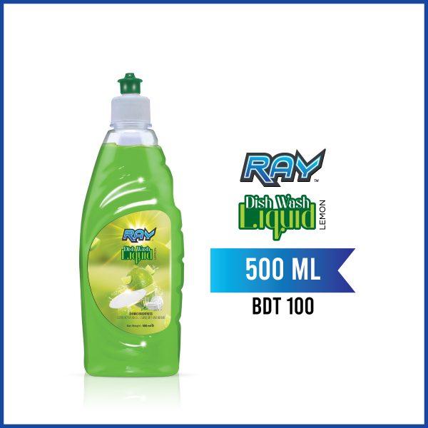 RAY Dish wash Liquid 250ml