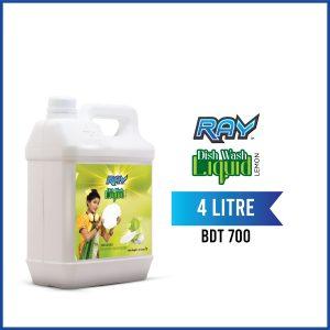 RAY Dish wash Liquid Refill 4 Liter