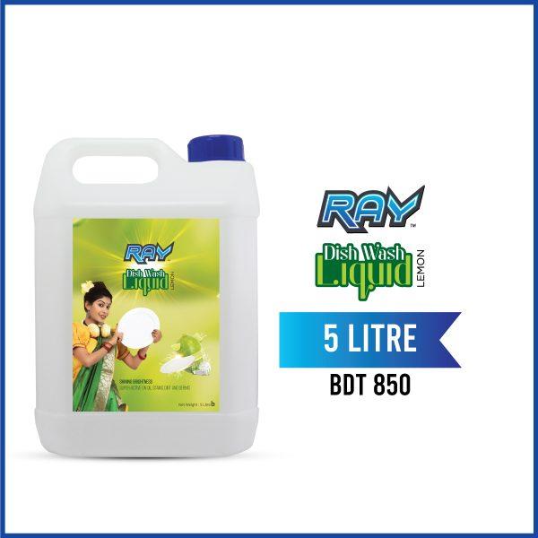 RAY Dish wash Liquid Refill 5 Liter
