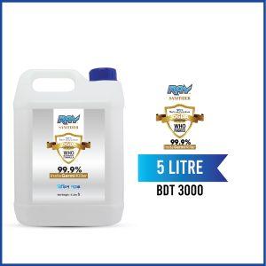 RAY Sanitizer Refill Blue 5 Liter