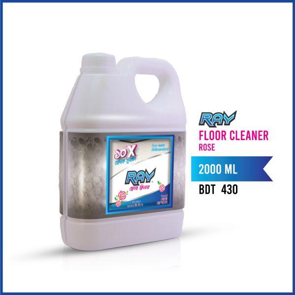 7_Ray Floor Cleaner (Rose)_2000 ml