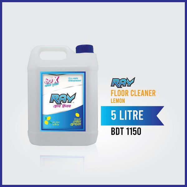 RAY Floor Cleaner lemon 5 Liter